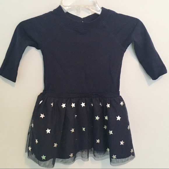 Carter's Other - Sweatshirt Tutu Party Dress with Stars and Bow